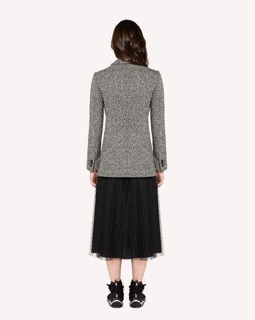 REDValentino SR0CEB0041B 0NO Jacket Woman r