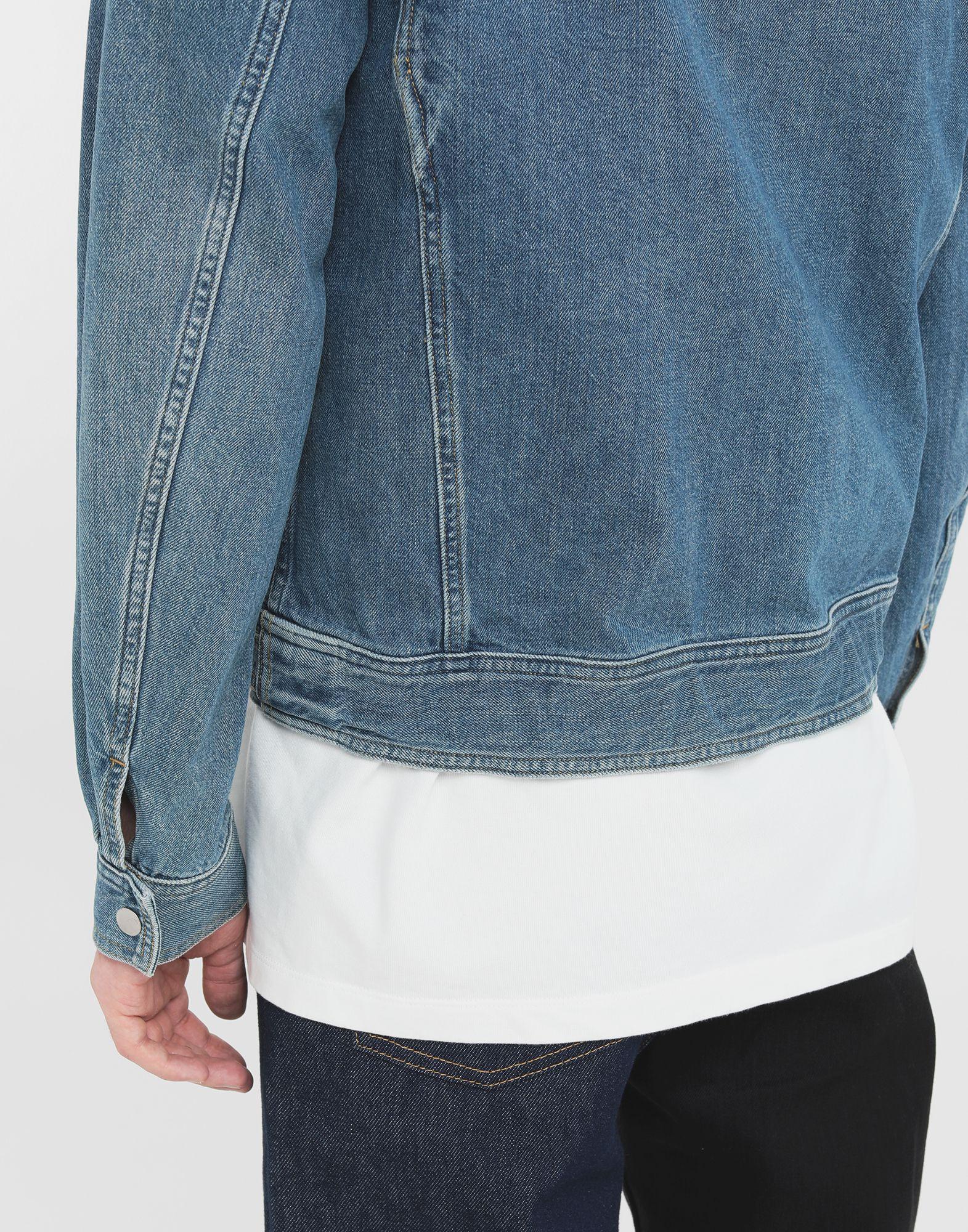 MAISON MARGIELA Zip denim jacket Blazer Man b