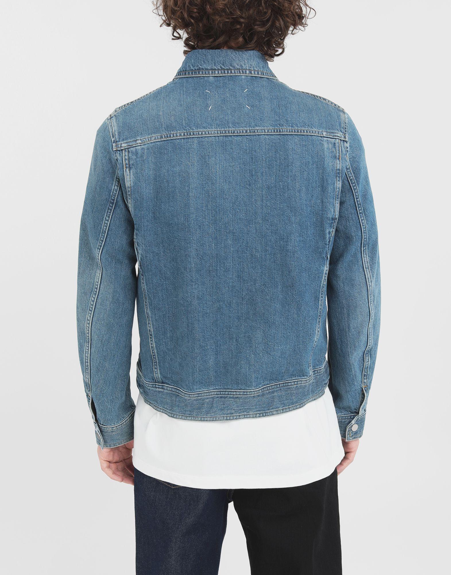MAISON MARGIELA Zip denim jacket Blazer Man e