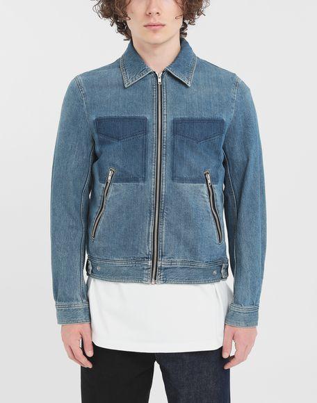 MAISON MARGIELA Zip denim jacket Blazer Man r