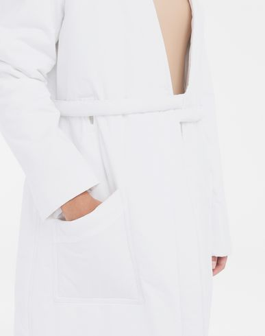 COATS and JACKETS Padded 'Blouse Blanche' White