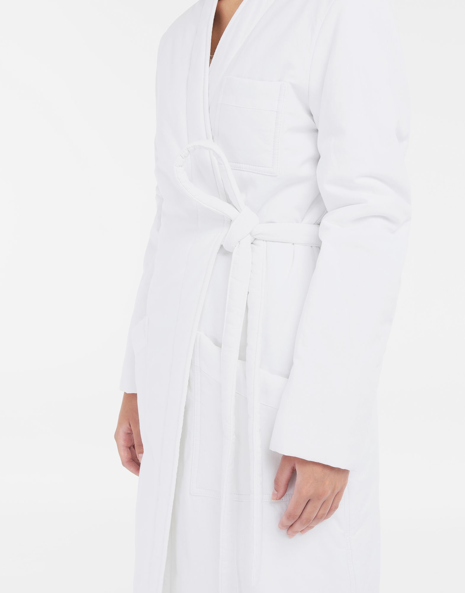 MM6 MAISON MARGIELA Padded 'Blouse Blanche' Coat Woman a