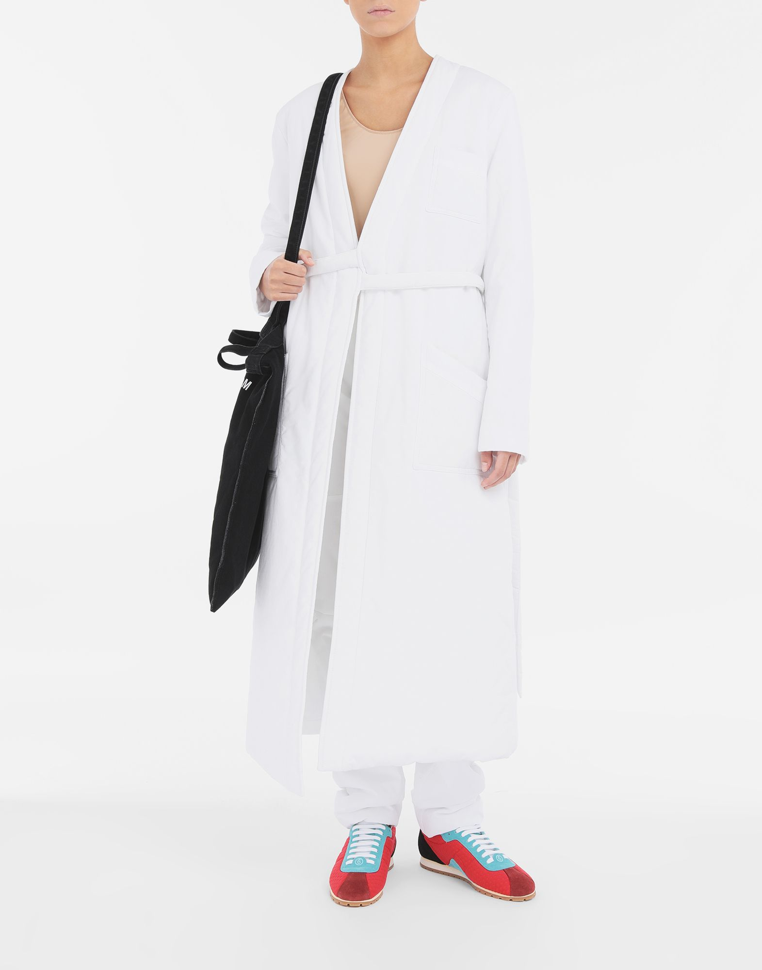 MM6 MAISON MARGIELA Padded 'Blouse Blanche' Coat Woman d