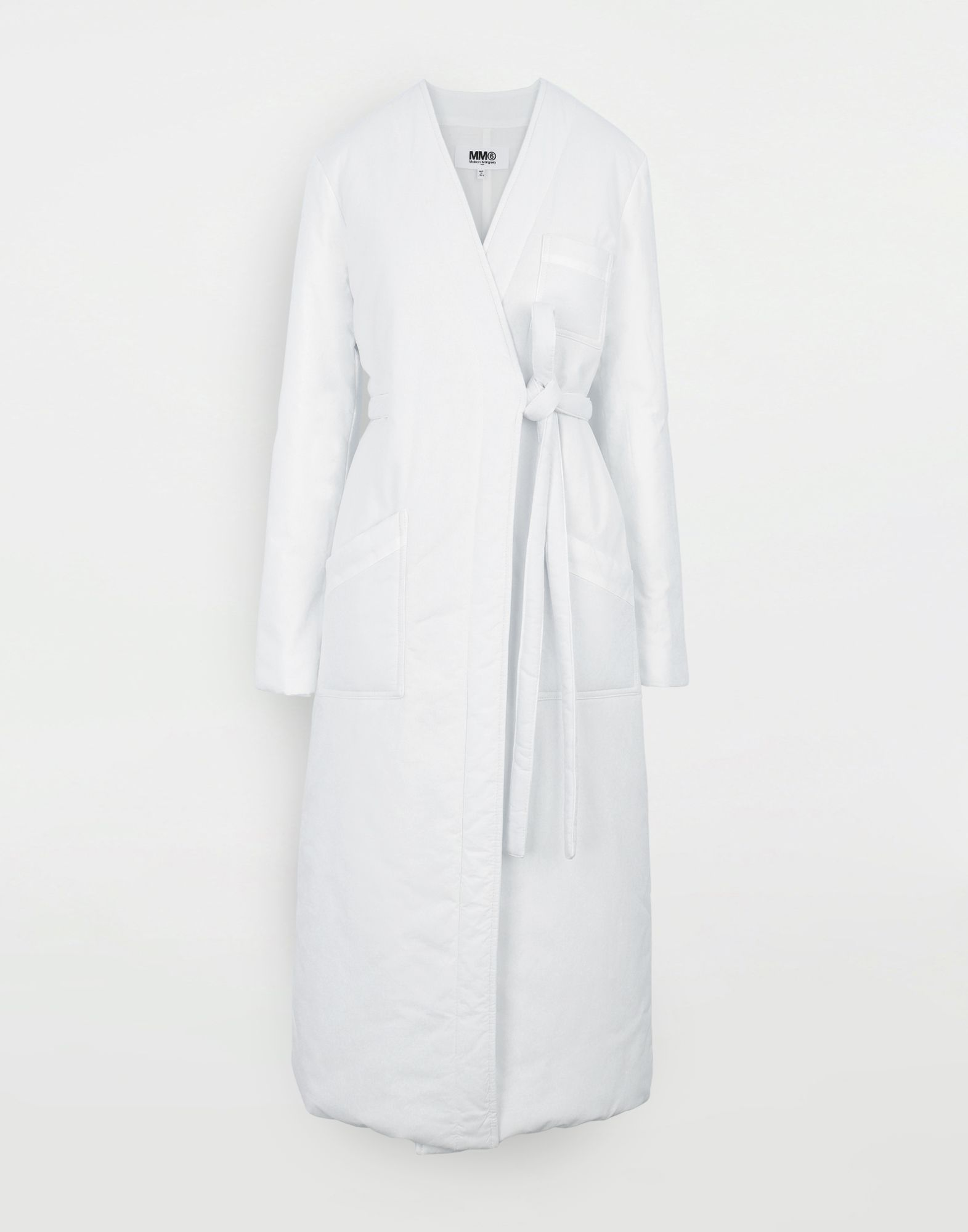 MM6 MAISON MARGIELA Padded 'Blouse Blanche' Coat Woman f