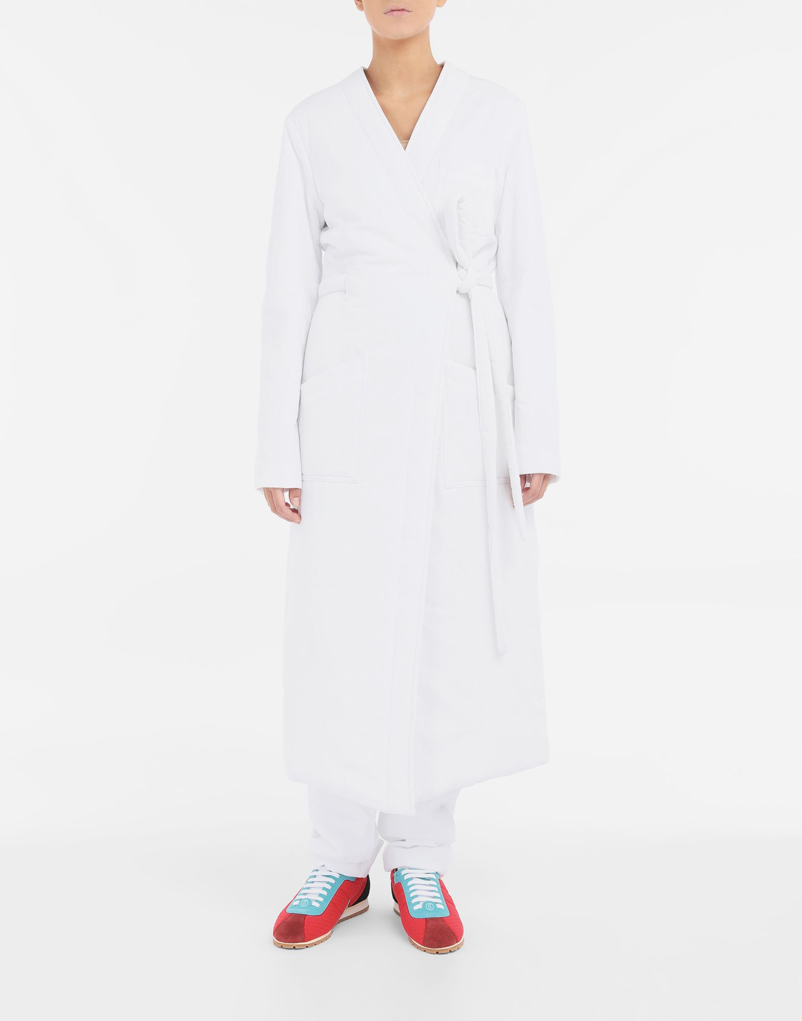 MM6 MAISON MARGIELA Padded 'Blouse Blanche' Coat Woman r