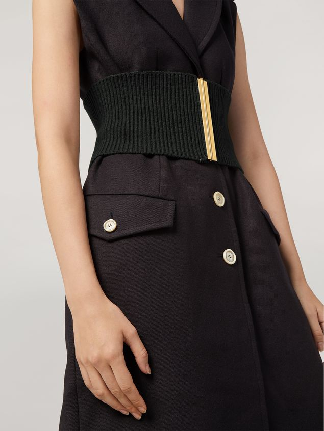 Marni Vest in brushed wool cover with pockets and slits Woman - 4