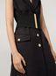 Marni Gilet in diagonale di lana garzata con tasche e spacchi Donna - 4