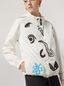 Marni Bomber jacket Faces print with drawstring Woman - 5