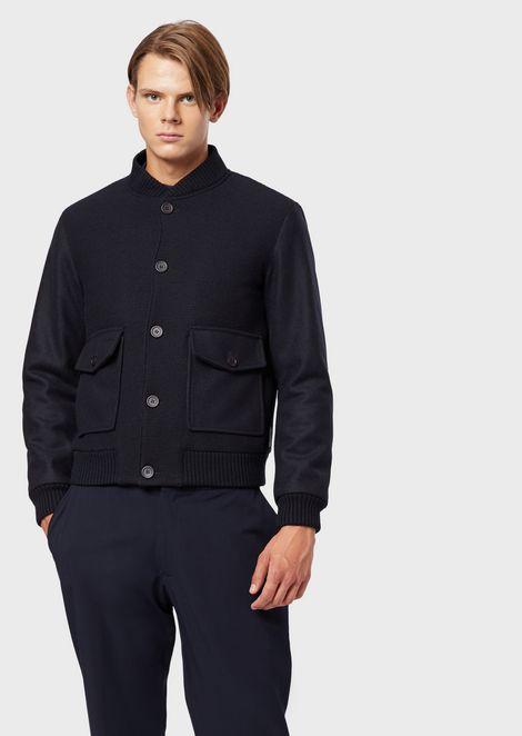 Chalecos y chaquetas de plumas de hombre | Emporio Armani