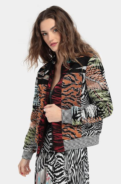 MISSONI Bomber White Woman - Front