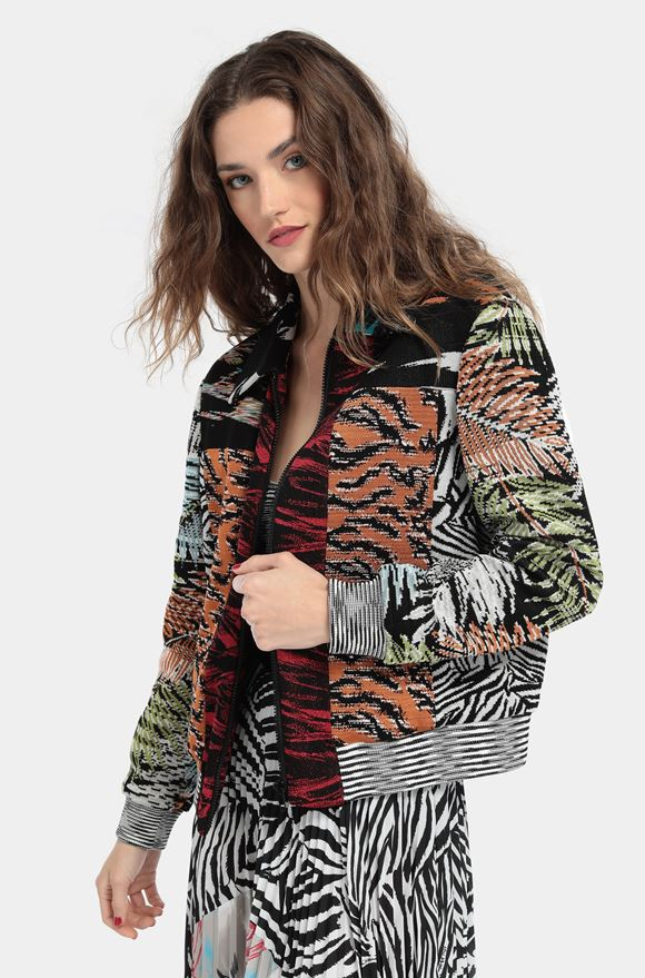 MISSONI Bomber Woman, Rear view