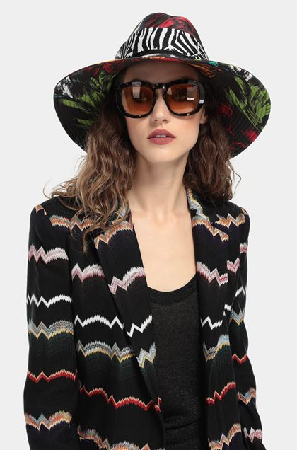 MISSONI Jacket Black Woman - Front