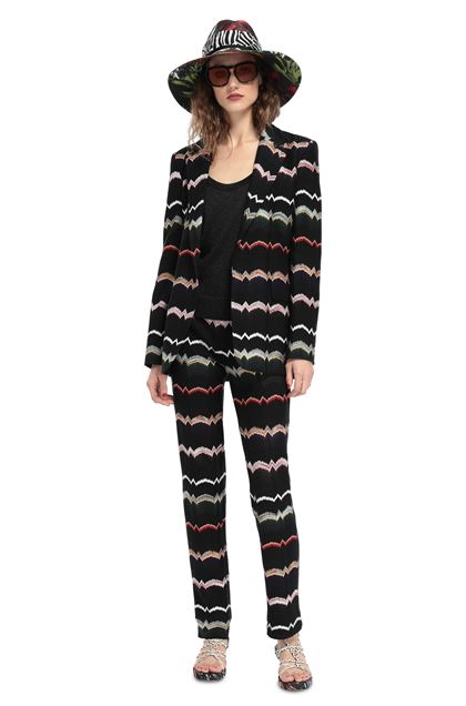 MISSONI Jacket Black Woman - Back