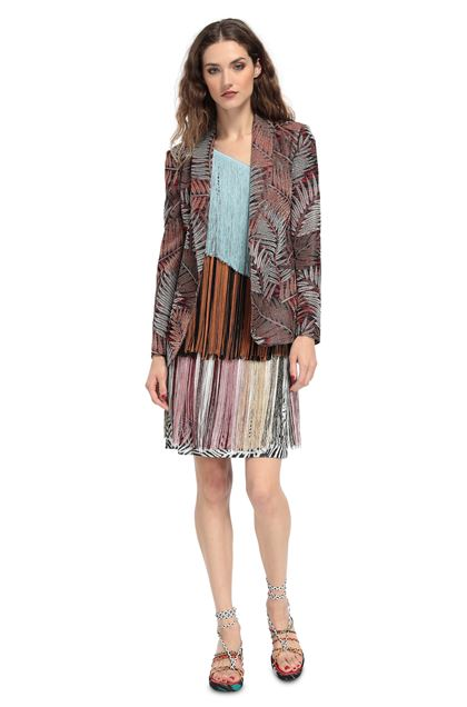 MISSONI Jacket Red Woman - Back