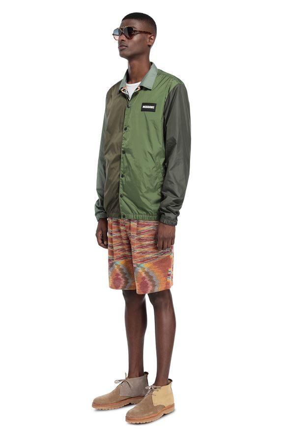 MISSONI Windbreaker Man, Side view