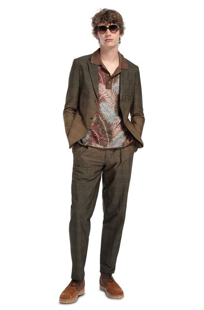 MISSONI Jacket Camel Man - Front