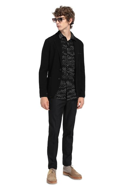 MISSONI Jacket Black Man - Front