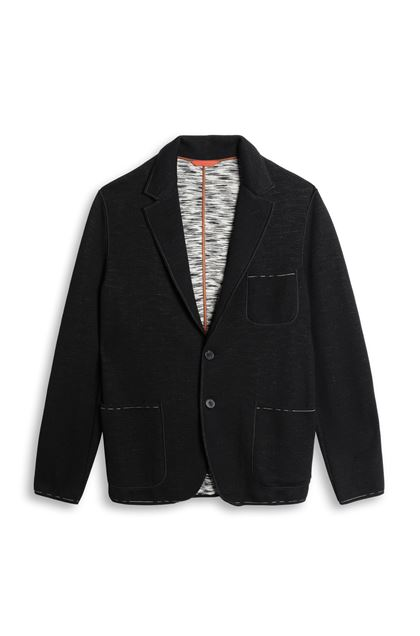MISSONI Jacket Black Man - Back