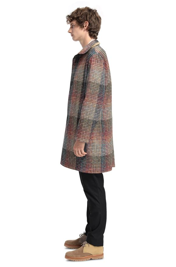 MISSONI Trench coat Man, Side view