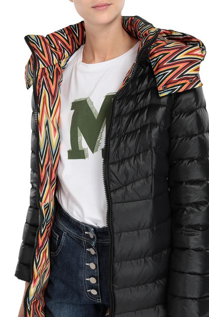 M MISSONI Down Jacket Black Woman - Front