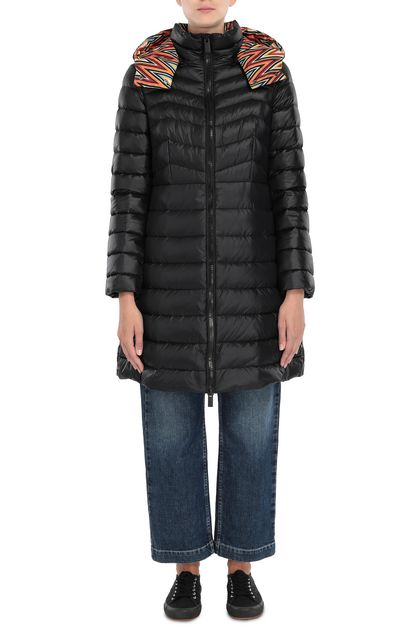 M MISSONI Down Jacket Black Woman - Back