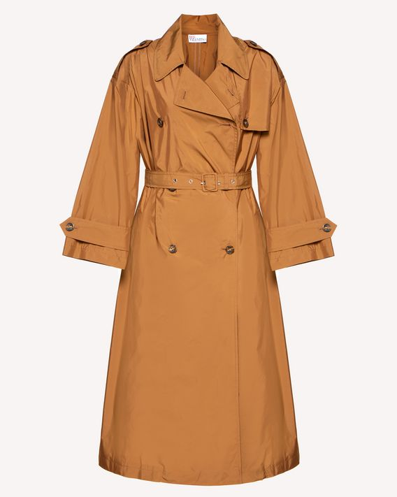 REDValentino Techno taffeta trench coat