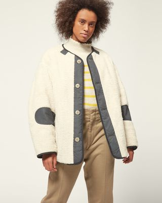 ISABEL MARANT ÉTOILE COAT Woman DEMMA COAT r