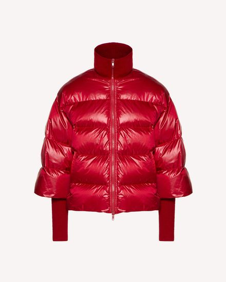 REDValentino Down jacket Woman SR0CNA304HD L58 a