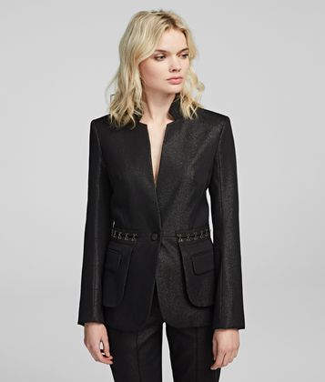 KARL LAGERFELD SPARKLE EVENING JACKET