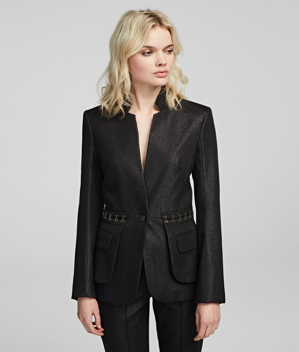 KARL LAGERFELD Sparkle Evening Jacket Jacket Woman f