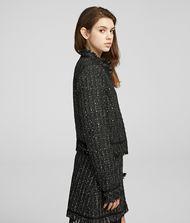 KARL LAGERFELD Sparkle Bouclé Jacket 9_f