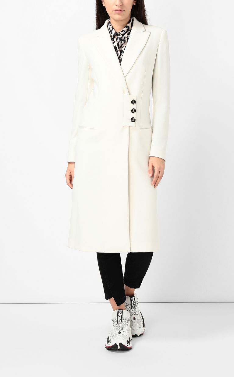 JUST CAVALLI Longline coat Coat Woman r