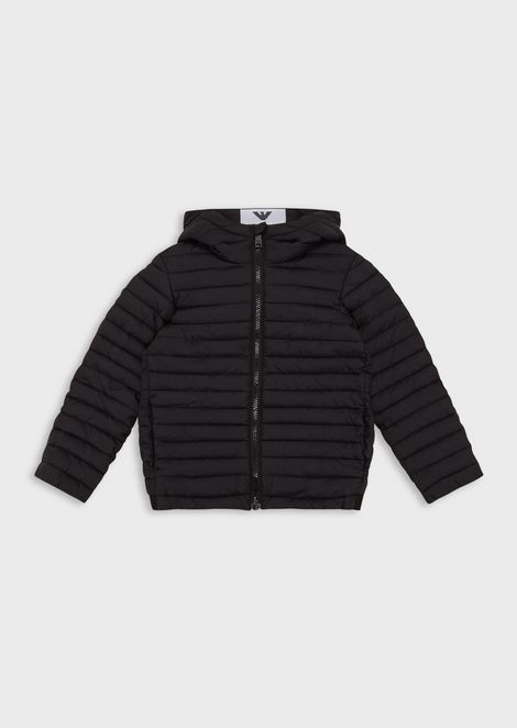Quilted jacket in nylon
