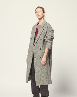 ISABEL MARANT ÉTOILE COAT Woman HABRA COAT r