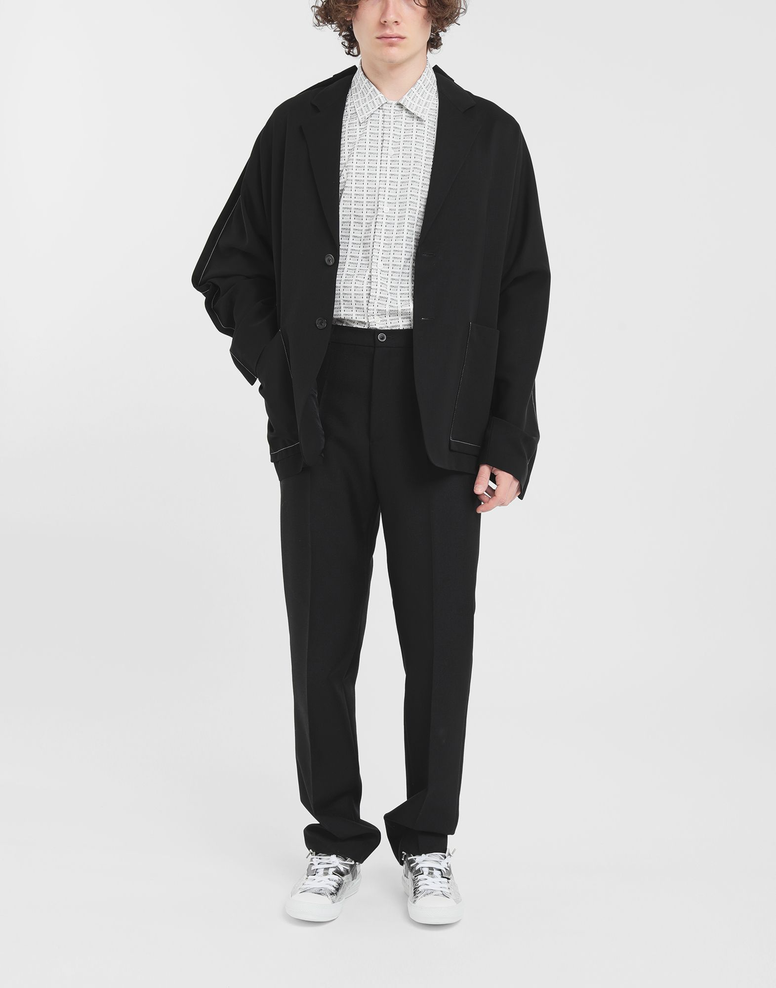 MAISON MARGIELA Oversized wool blazer Jacket Man d