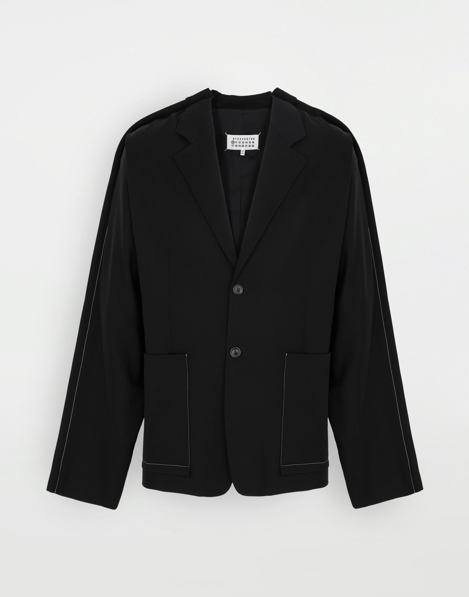 MAISON MARGIELA Oversized wool blazer Jacket Man f