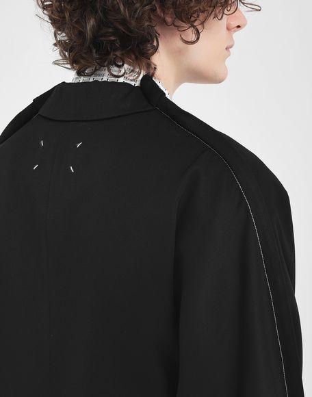 MAISON MARGIELA Blazer oversize in lana Giacca Uomo b