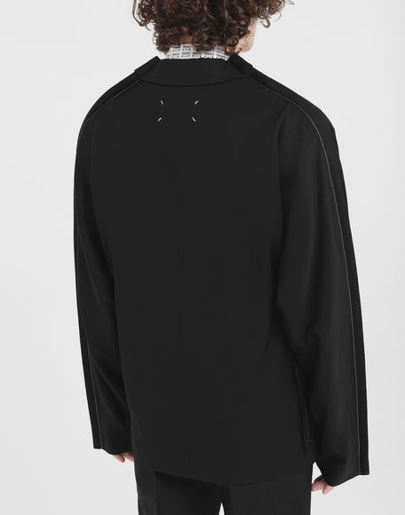 MAISON MARGIELA Oversized wool blazer Jacket Man e