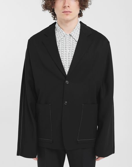 MAISON MARGIELA Oversized wool blazer Jacket Man r