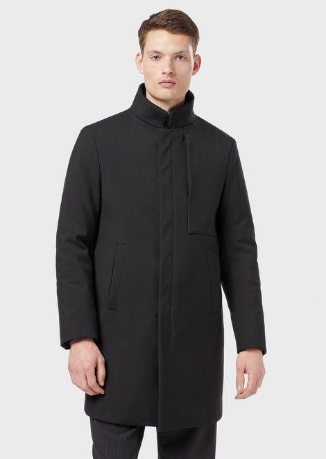Wool pile coat