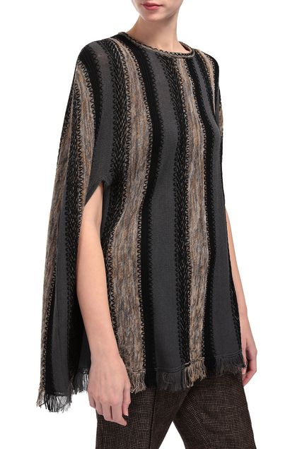 M MISSONI Cape Steel grey Woman - Front