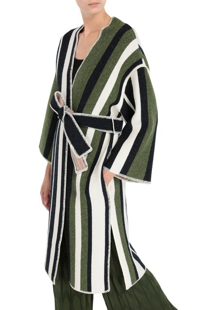 M MISSONI Coat Green Woman - Front