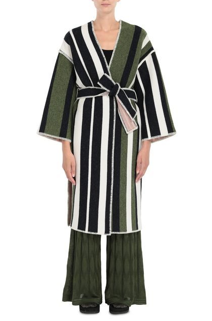 M MISSONI Coat Green Woman - Back