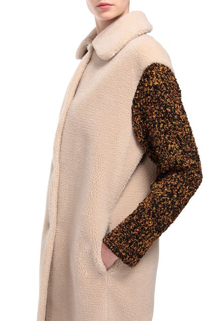 M MISSONI Coat Beige Woman - Front