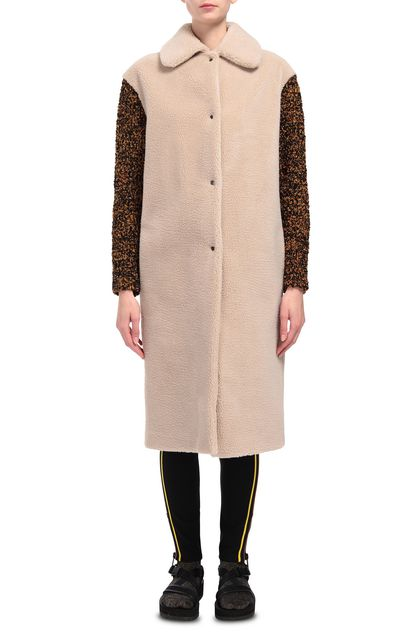 M MISSONI Coat Beige Woman - Back