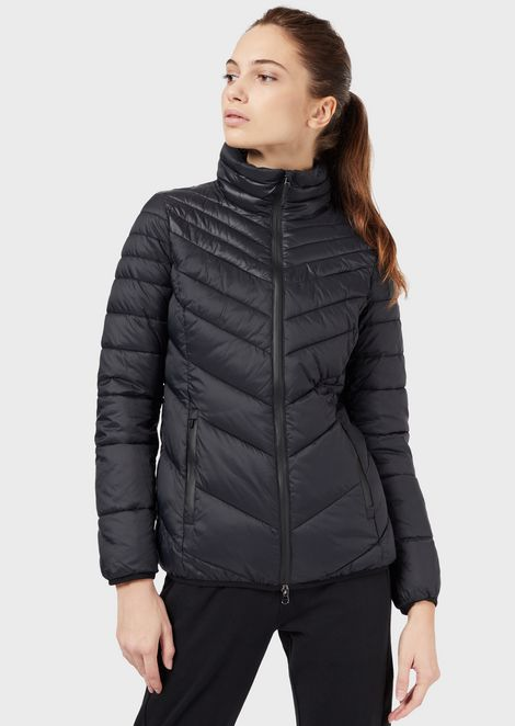 Jacket in windproof fabric with Ardor7 padding