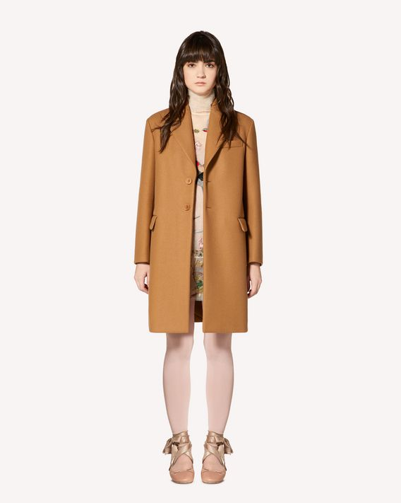 REDValentino Wool cashmere cloth coat