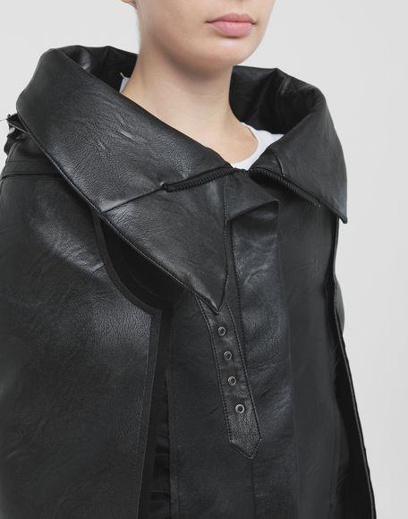 MAISON MARGIELA Décortiqué faux leather jacket Blazer Woman a