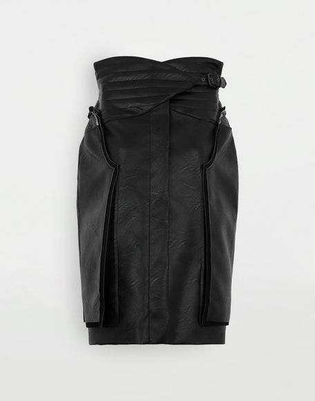 MAISON MARGIELA Décortiqué faux leather jacket Blazer Woman f