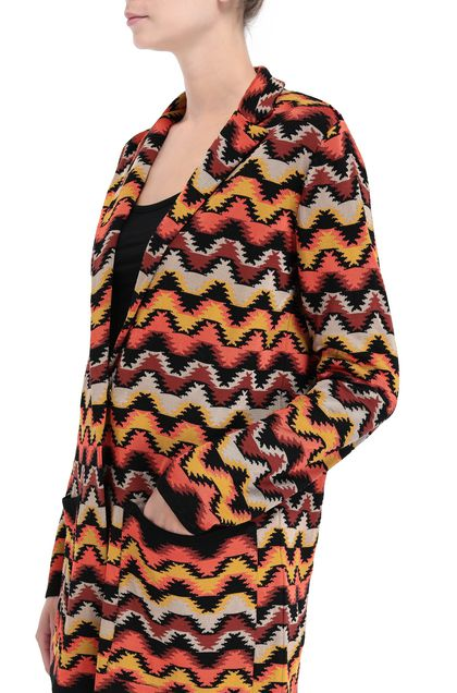 M MISSONI Jacket Orange Woman - Front